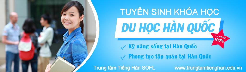 Lớp học tiếng Hàn tại Hà Nội