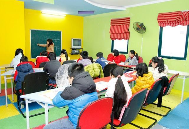 Dạy tiếng Hàn Quốc cho trẻ em