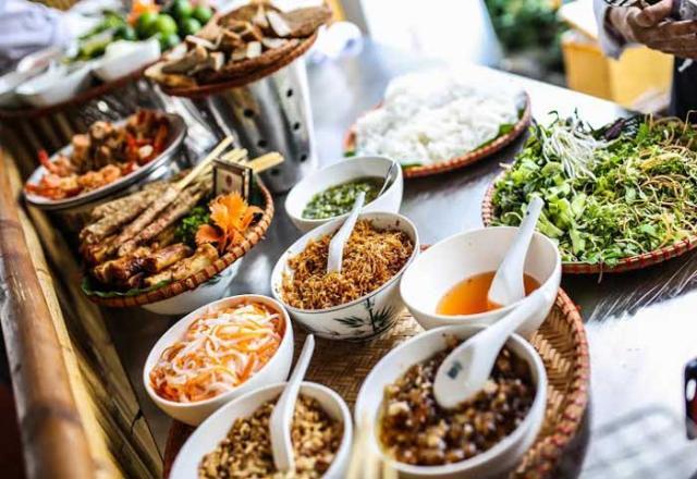 Từ vựng tiếng Hàn về các món ăn của Việt Nam