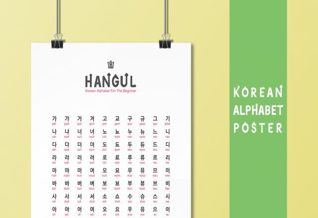 Làm thế nào để học bảng chữ cái Hàn Quốc dễ dàng?
