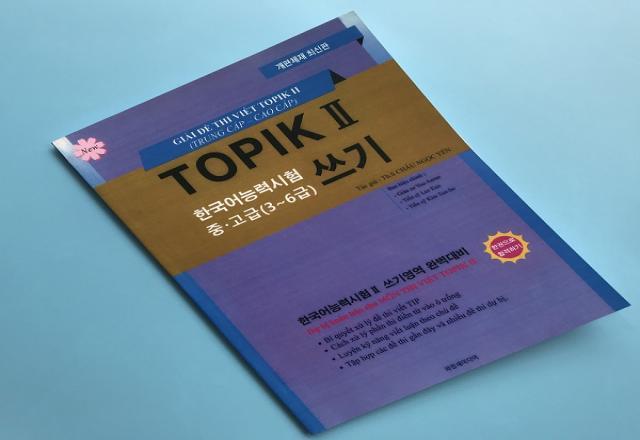 [Review] Sách luyện thi TOPIK II (bản 2018) - Phần viết