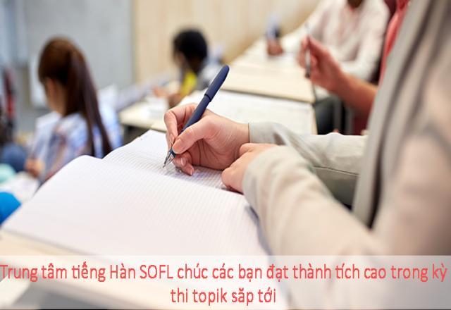 Luyện thi TOPIK tiếng Hàn - Hệ thống 100 từ vựng thường gặp